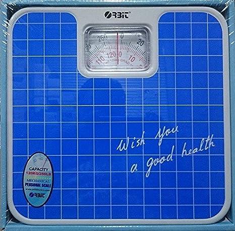 JPWOnline - Bascula de baño analogica Orbit Alexandra: Amazon.es: Salud y cuidado personal