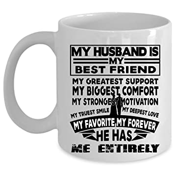 Amazoncom My Favorite My Forever Coffee Mug My Husband Is My