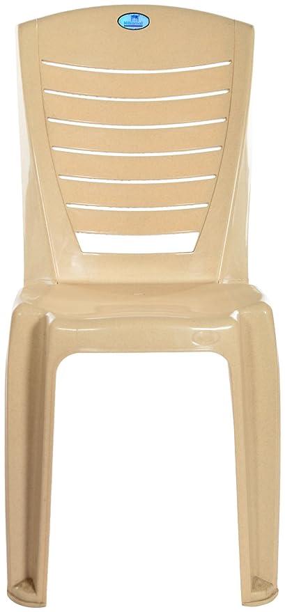 Nilkamal Chair (Cream)