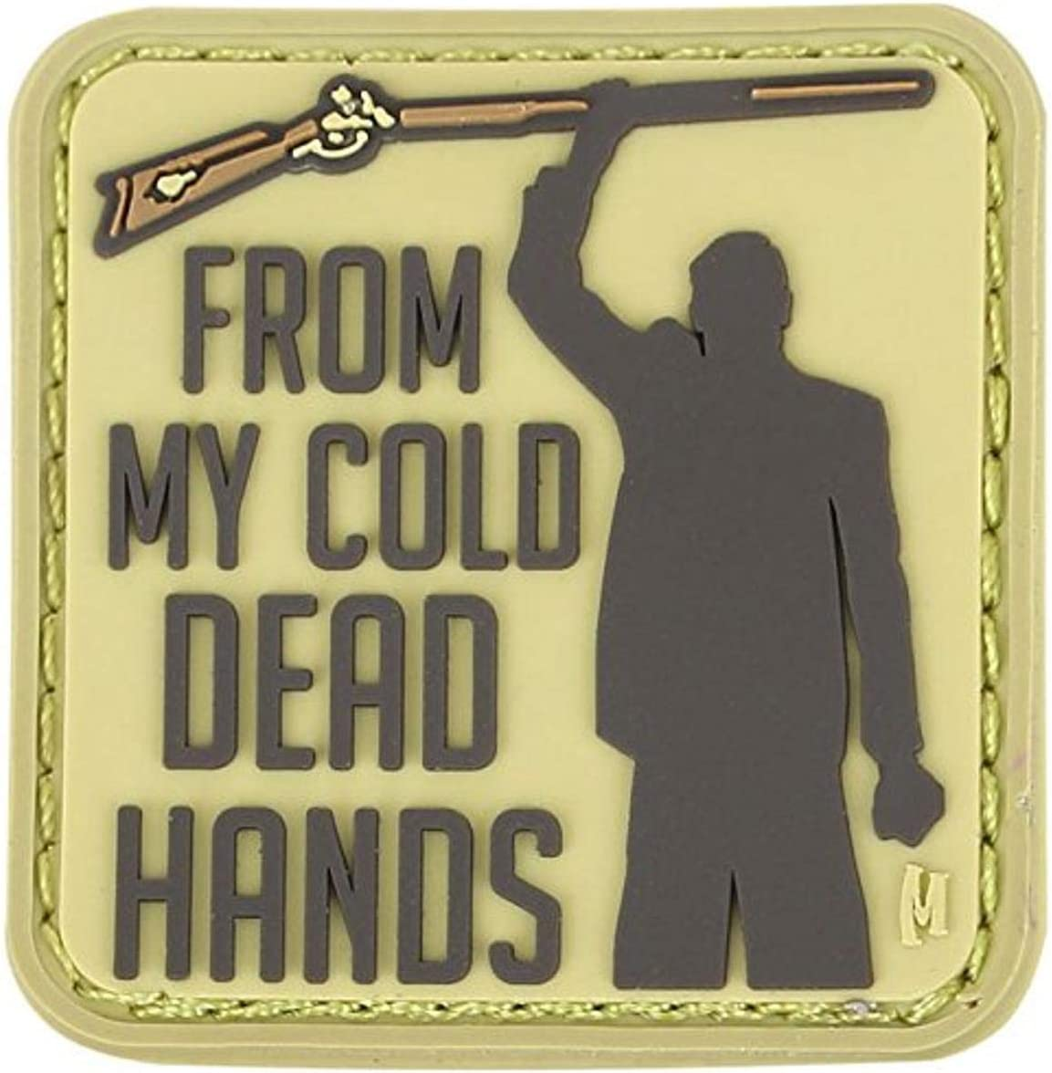 Maxpedition - Parche de manos muertas frías de 1.5 x 1.5 pulgadas, Hombre, CDHSA, árido, small: Amazon.es: Deportes y aire libre