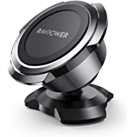 Magnetic Phone Car Mount, RAVPower Phone Holder for Car, Car Cellphone Holder, Magnetic Mount, Compatible with iPhone 11…