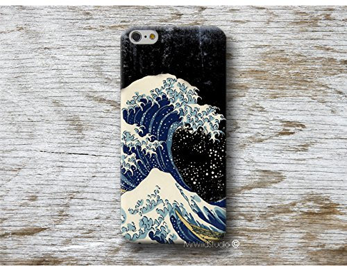 gran ola Hokusai Carcasa para Samsung Galaxy Cases S9 S8 plus S7 S6 edge S5 S4 mini A5 A3 J7 J5 J3 NOTE 8 5 4 etc . . .