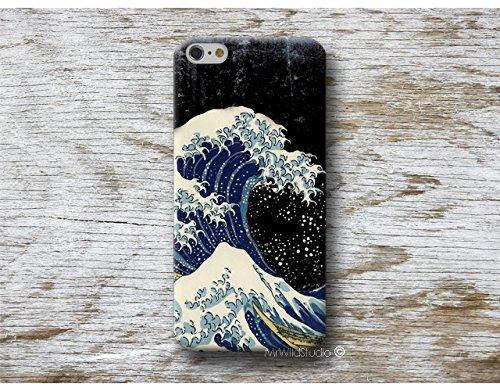 gran ola Hokusai Carcasa para Samsung Galaxy Cases S9 S8 plus S7 S6 edge S5 S4 mini A5 A3 J7 J5 J3 NOTE 8 5 4 etc . . .
