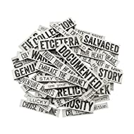 Quote Chips by Tim Holtz Idea-ology, Chipboard, 58 Quote Chips (TH93563)