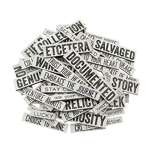Michaels Craft Ideas Halloween (Quote Chips by Tim Holtz Idea-ology, Chipboard, 58 Quote Chips)