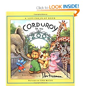 Corduroy at the Zoo (A Lift-the-Flap Book) Don Freeman, B. G. Hennessy and Lisa McCue (Illustrator)