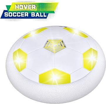 Dreamingbox - Balón de fútbol con Luces LED para niños, Amarillo ...