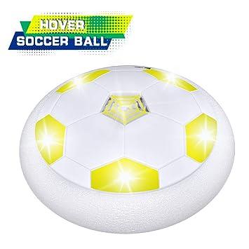 OPO - Balón de fútbol Colorido con luz LED para Interiores y ...