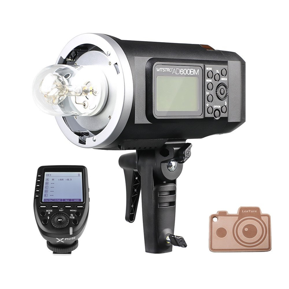 Godox AD600BM Bowens Mount 600Ws GN87 High Speed Sync Outdoor Flash Strobe Light with Xpro-N Transmitter Trigger for Nikon Cameras