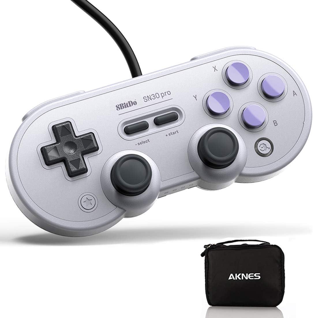 Amazon.com: USB Game Controller for PC, 8Bitdo SN30 Pro ...