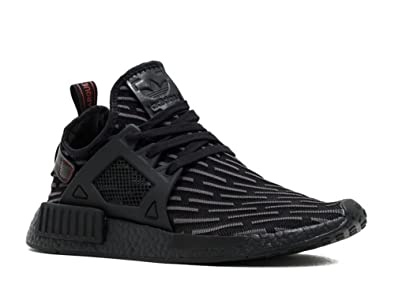 adidas mens nmd rt triple black ba7214 fitness