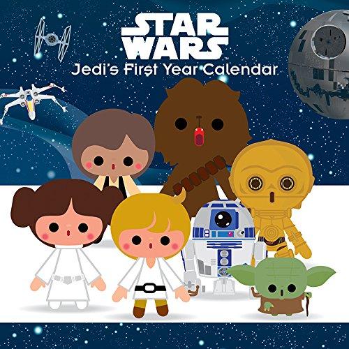 2019 PERWALL Star Wars Saga Wall Calendar