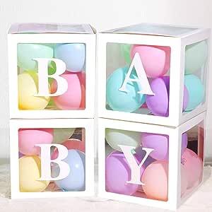 Amazon.com: Decoraciones de baby shower para niñas y niños ...