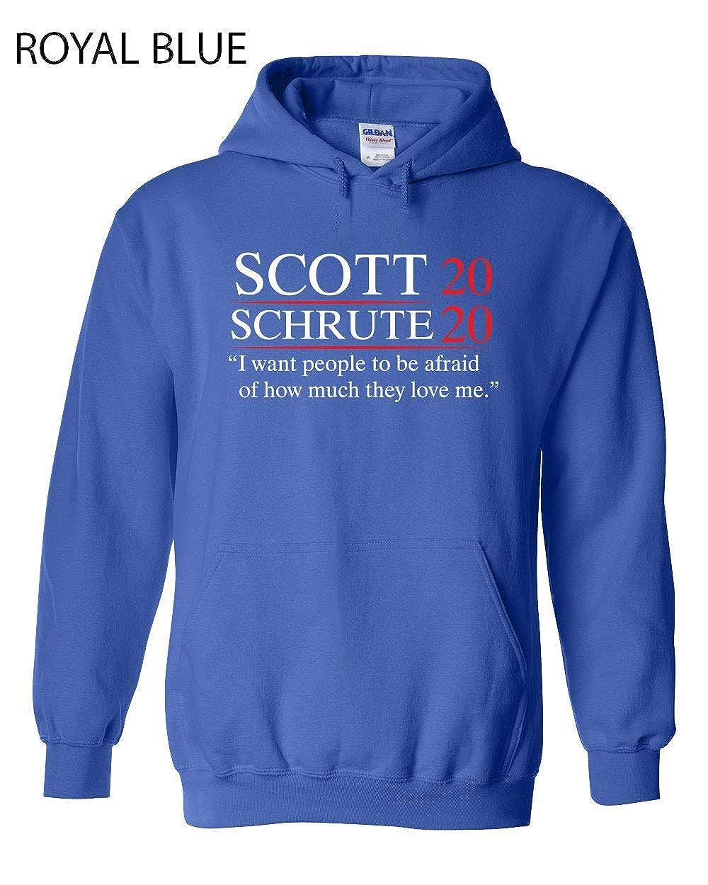 457 Scott Schrute 2020 Funny Hooded Sweatshirt