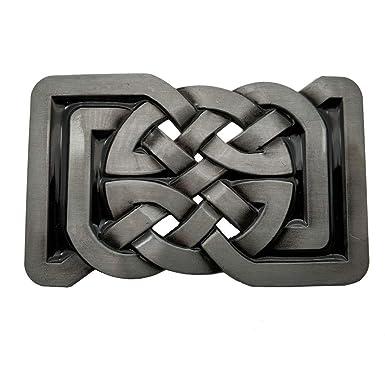 9daff0e66127 Rectange Celtic Knot Belt Buckle Boucle de ceinture  Amazon.fr ...