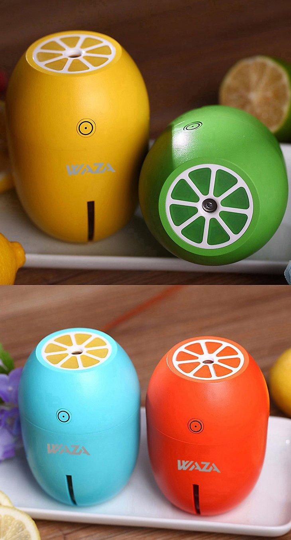 waza Mini USB humidificador creativo Lemon Luz nocturna para coche OFICINA Casa, Naranja: Amazon.es: Bricolaje y herramientas