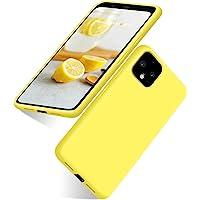 abitku Google Pixel 4XL Case, Google Pixel 4XL Silicone Slim Gel Rubber Phone Case Soft Microfiber Cloth Lining Cushion…