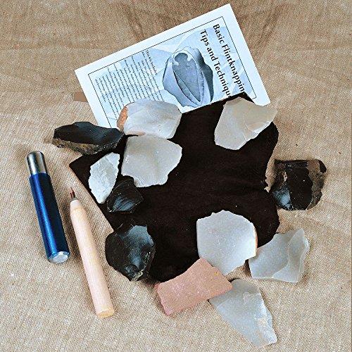 - Flintknapping Kit with Metal Billet, Learn to Knap!