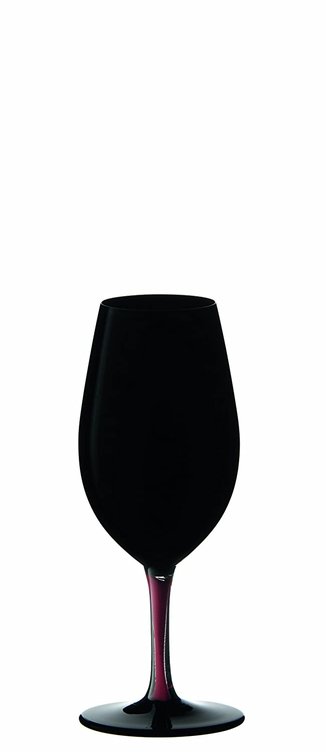 Riedel Sommeliers Collector's Edition Burgundy Grand Cru Glass, Black/Red, Single 4100/16BRB