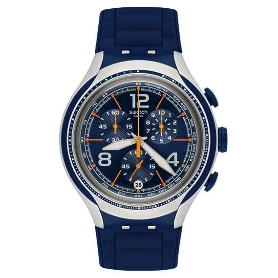 Swatch Hombre Xlite yys4015 silicona), color azul reloj de cuarzo suizo: Swatch: Amazon.es: Relojes