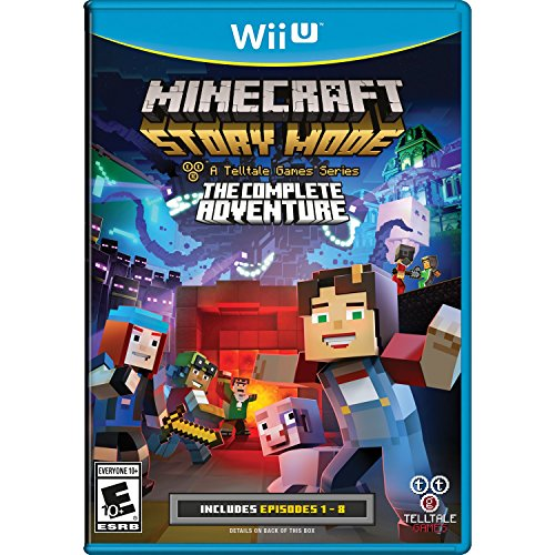 Minecraft: Story Mode- The Complete Adventure - Wii (Toy Story Wii)