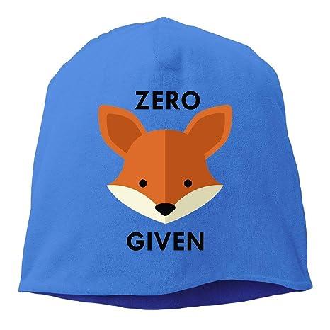 Sdltkhy Zero Fox Dado Mujeres/Hombres Sombrero de Lana Gorro de ...