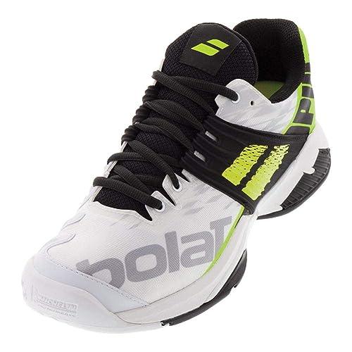 Zapatillas de Tenis Babolat Fury All Court - Hombre, Blanco, 43: Amazon.es: Zapatos y complementos