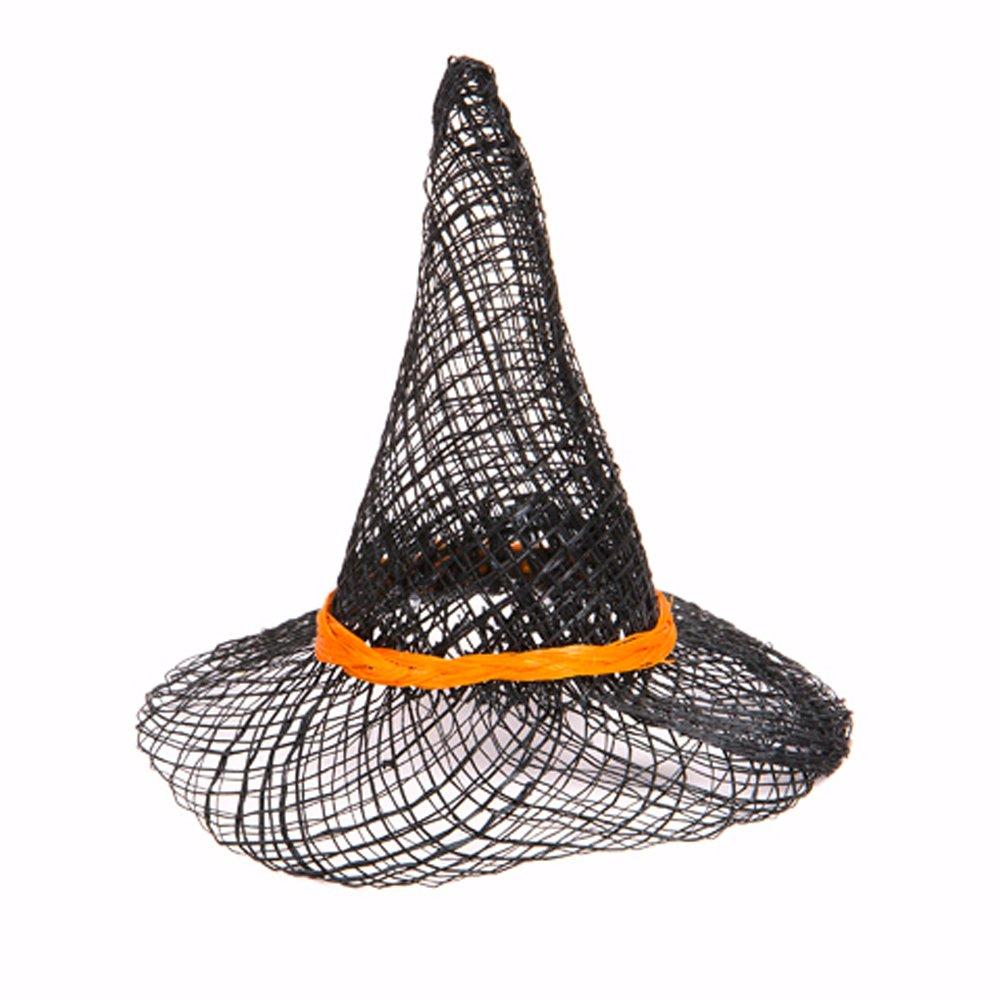 人気特価 Package of 12 of Orange & Black Sinamay Pointed for Witch Package Hat for Crafts, Decorating & More B005JTSNDI, 南魚沼郡:eee9a650 --- a0267596.xsph.ru