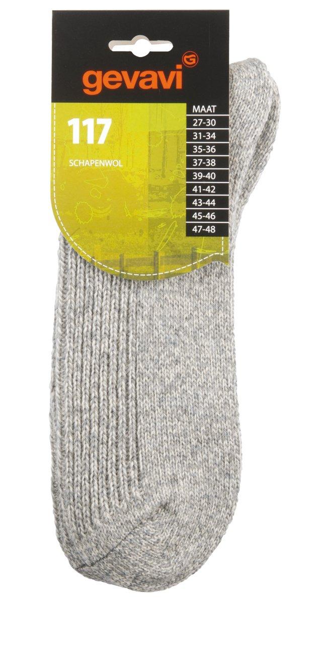 Gevavi 011716270 117 lana de oveja, calcetines, 27 - 30, Gris: Amazon.es: Industria, empresas y ciencia