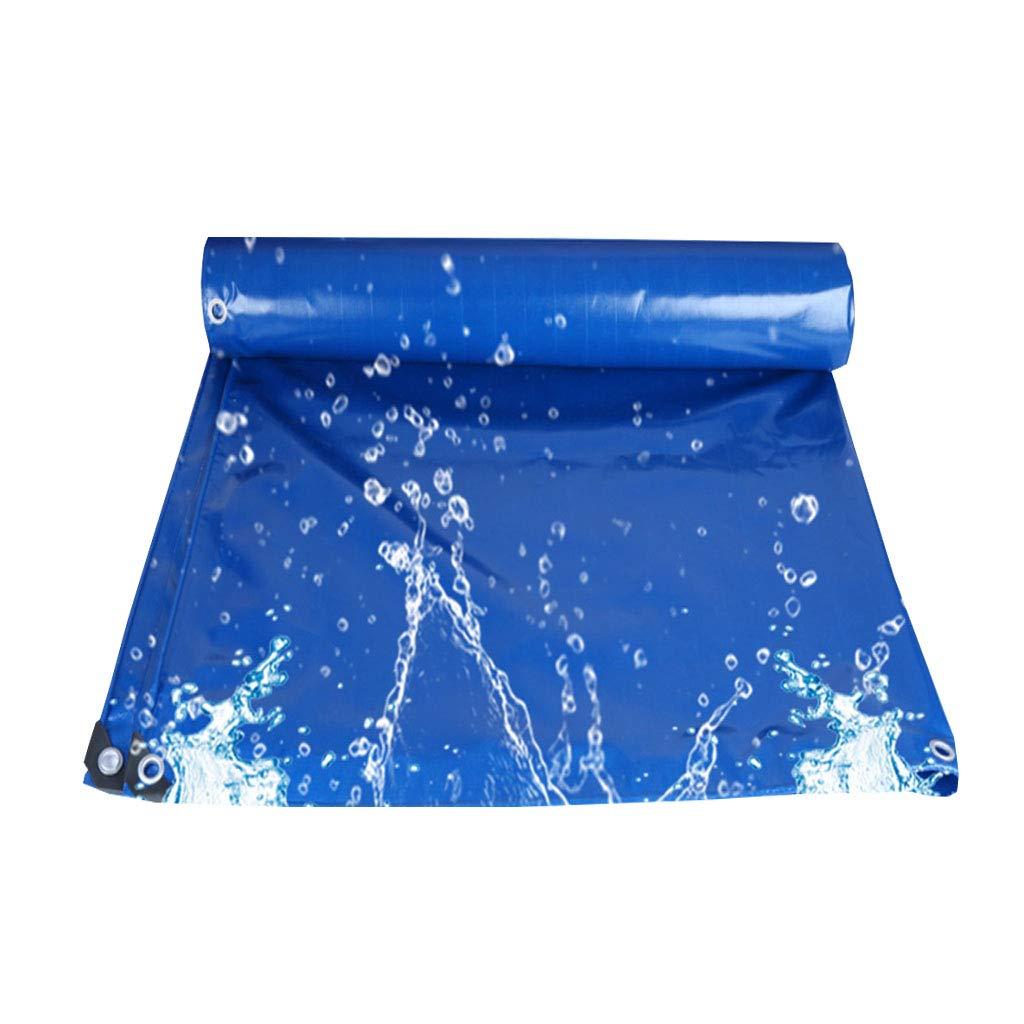 YX-Planen Wasserdichte Wasserdichte YX-Planen Plane Robuste Schutzplane für Blumenbeete Blau - 100% wasserdicht und UV-geschützt - Dicke 0,3 mm, 350 g m² 8a80ed