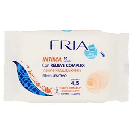 Fria - Intima - Toallitas húmedas intimas - 20 toallitas