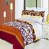 Egyptian Bedding Mission Printed 3 Piece King Size Duvet Set, 100% EGYPTIAN COTTON