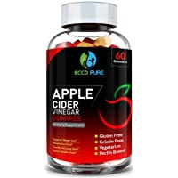 Apple Cider Vinegar Gummies w/The Mother – Supports All Natural Weight Loss, Healthy...