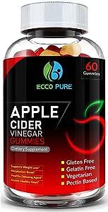Amazon.com: Apple Cider Vinegar Gummies w/The Mother