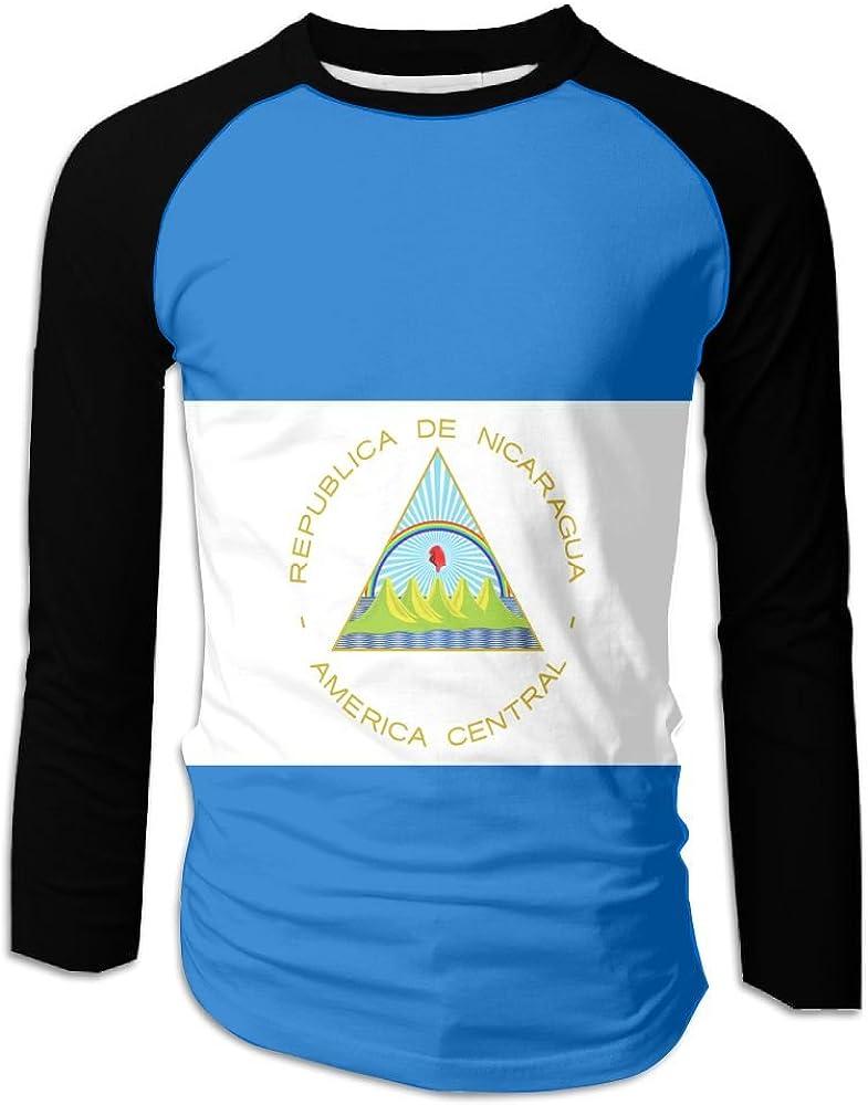 MASDUIH 3D Print Colorful Marijuana Long Sleeve Shirt Baseball Shirt