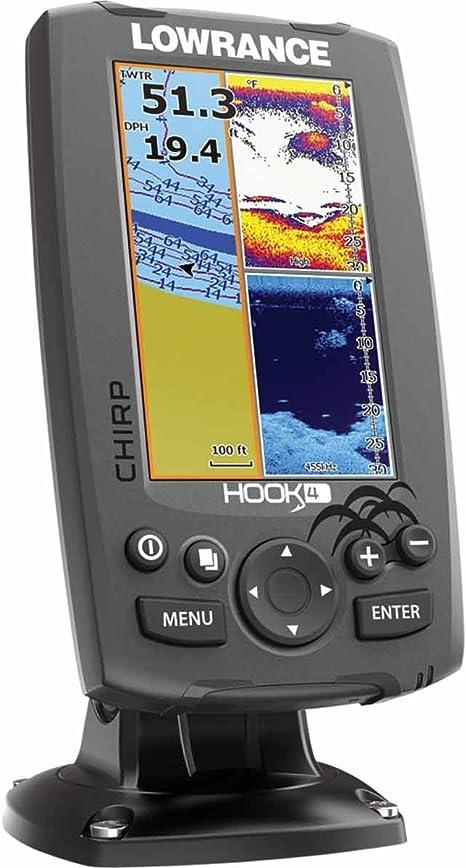 Lowrance Localizador Plotter Hook-4: Amazon.es: Bricolaje y herramientas
