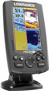 Lowrance Localizador Plotter Hook-4: Amazon.es: Bricolaje y ...