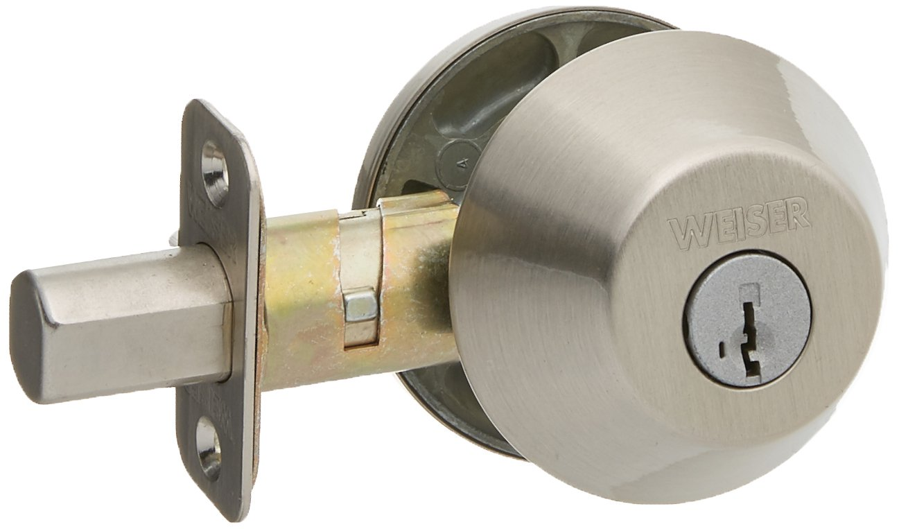 Weiser Lock Single Cylinder Deadbolt with Smart Key GD947115S