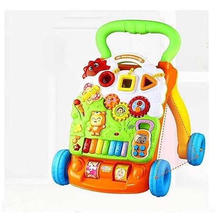 HQQ Caminador de Trolley para bebés, Juguete Multiusos ...