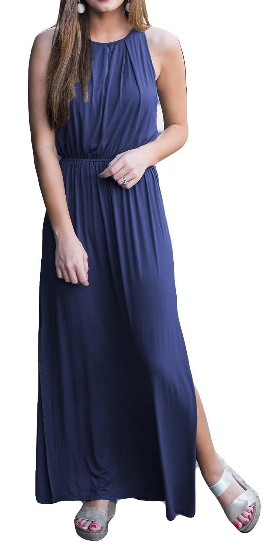 POGTMM DRESS レディース B07BZFHDGL X-Large|ブルー ブルー X-Large