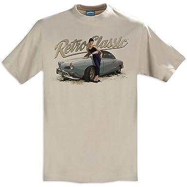 RetroClassic Herren T-Shirt Gr. XXXL, sand