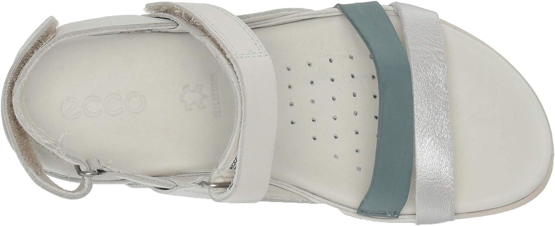 ECCO Flash, Sandali con Cinturino alla Caviglia Donna Grigio Alu Silver Trooper Shadow White 51596