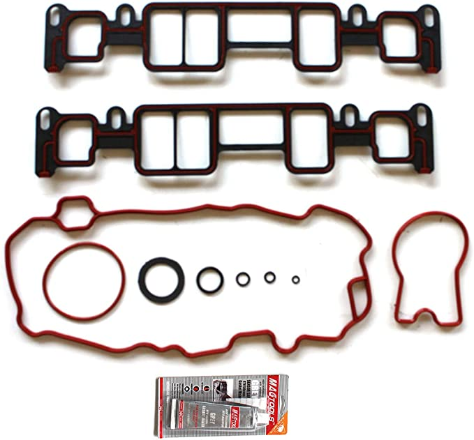ANPART Automotive Replacement Parts Engine Kits Upper Intake Manifold Gasket Sets Fit Chevrolet Astro 4.3L 1996-2005