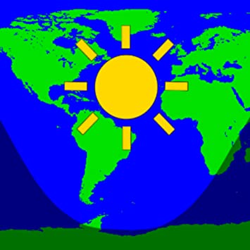 Amazon.com: Daylight World Map: Appstore for Android on
