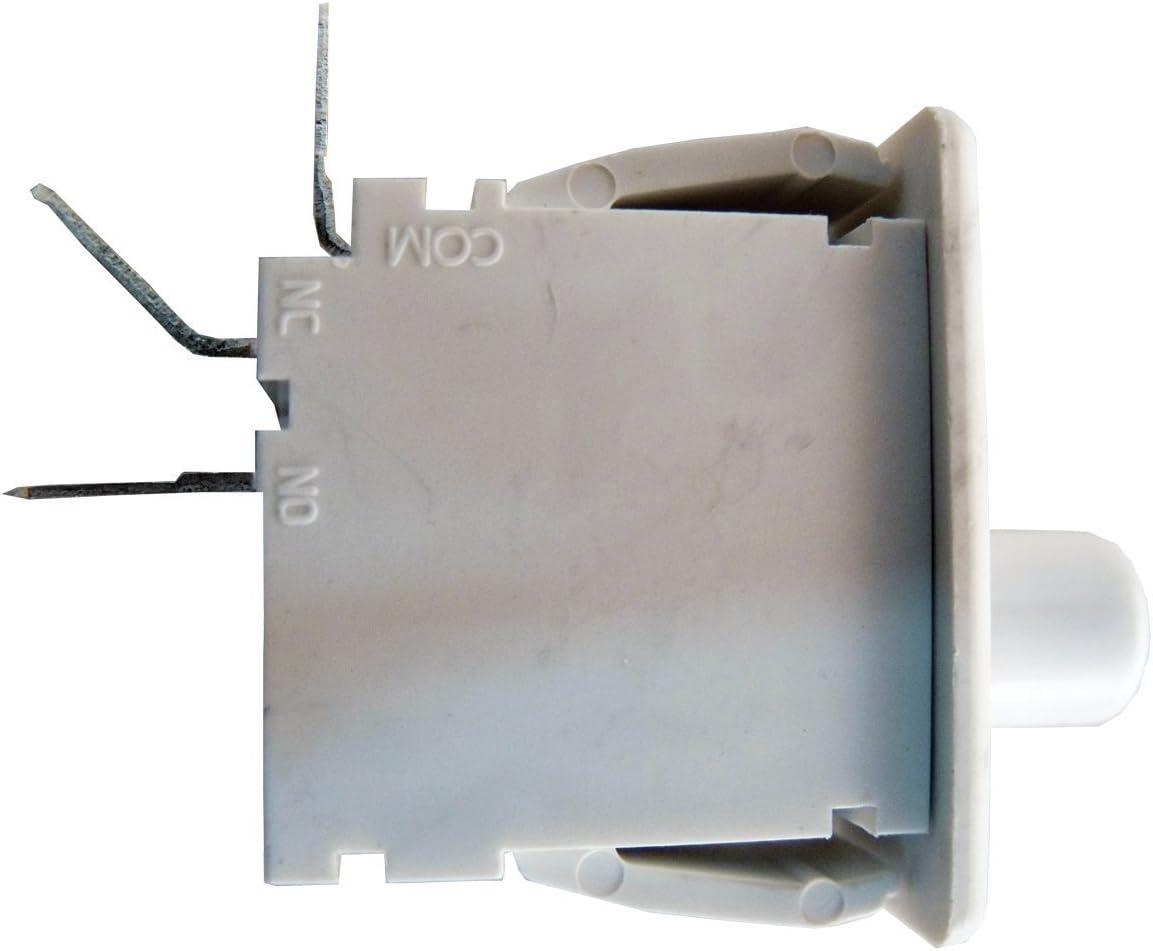 Supco ES16806 Dryer Door Switch For GE WE4M126, Electrolux 5303281644, Maytag 33001586, 22002044