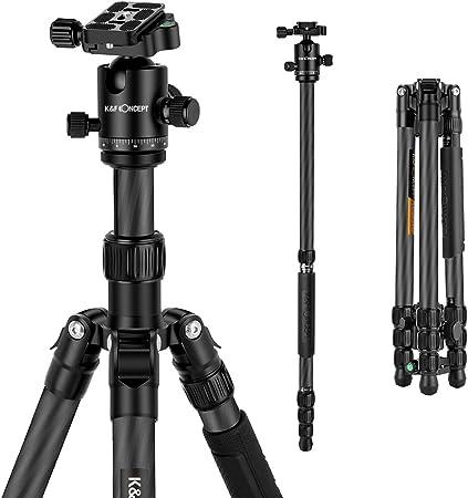 K F Concept Carbon Stativ 163cm Tragbare Mit 360 Kamera
