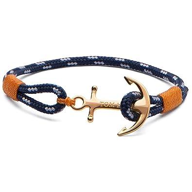 TOM HOPE , Bracelet Unisexe 24k One Xs Tom Hope Tm0120 , Argent , XS