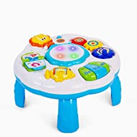 Deals on Dahuniu Baby Activity Table Baby Musical Learning
