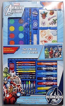 Boîte De Coloriage Marvels Avengers Crayons De Couleurs