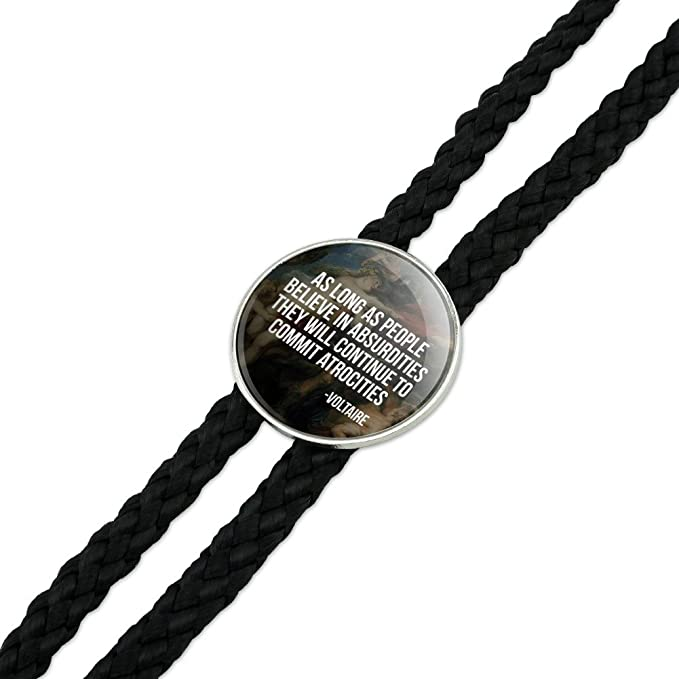 Save Alaska with Bear Mountains Water Western Southwest Cowboy Necktie Bow Bolo Tie